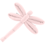 Barrette libellule oxford rose