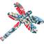 Pasador Libélula azulejos - PPMC