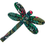 Dragonfly hair slide deer - PPMC