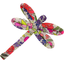 Dragonfly hair slide purple meadow - PPMC