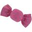 Petite barrette mini bonbon etoile or fuchsia - PPMC