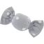 Petite barrette mini bonbon pois gris clair - PPMC