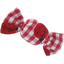 Mini sweet hairslide ladybird gingham - PPMC
