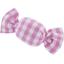 Petite barrette mini bonbon vichy fuchsia - PPMC