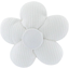 Mini flower hair slide white - PPMC