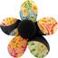 Petite barrette mini-fleur bulles dorées - PPMC