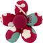Mini flower hair slide ruby cherry tree - PPMC