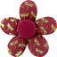 Mini flower hair slide ruby dragonfly - PPMC