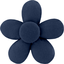 Mini flower hair slide navy blue - PPMC