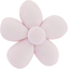Mini flower hair slide light pink