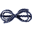 Barrette noeud arabesque etoile or marine  - PPMC