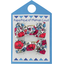 Small bows hair clips poppy - PPMC