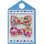 Small bows hair clips purple meadow - PPMC
