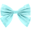 Bow tie hair slide azur - PPMC