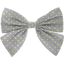 Bow tie hair slide etoile or gris - PPMC