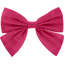 Bow tie hair slide fuschia