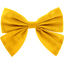 Bow tie hair slide yellow ochre - PPMC