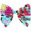 Bow tie hair slide kokeshis - PPMC