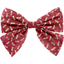 Bow tie hair slide ruby dragonfly - PPMC