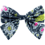 Bow tie hair slide night of birds - PPMC