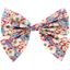 Bow tie hair slide carnations jeans - PPMC
