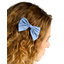 Barrette noeud papillon oxford ciel