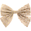 Bow tie hair slide pink coppers spots - PPMC