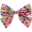 Bow tie hair slide purple meadow - PPMC