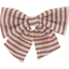 Bow tie hair slide copper stripe - PPMC