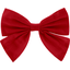 Barrette noeud papillon rouge - PPMC