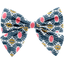 Bow tie hair slide ethnic sun - PPMC