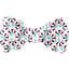 Small bow hair slide neon shards - PPMC