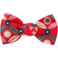 Small bow hair slide paprika petal - PPMC
