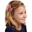 Ribbon bow hair slide etoile or fuchsia