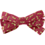 Ribbon bow hair slide ruby dragonfly - PPMC