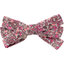 Ribbon bow hair slide plum lichen - PPMC