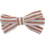 Ribbon bow hair slide copper stripe - PPMC