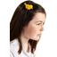 Bird hair slide yellow ochre