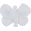 Butterfly hair clip white - PPMC