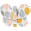 Butterfly hair clip pastel drops - PPMC