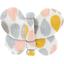 Barrette petit papillon gouttes pastel - PPMC