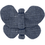 Butterfly hair clip light denim - PPMC