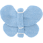 Butterfly hair clip oxford blue - PPMC