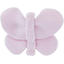 Barrette petit papillon oxford rose - PPMC