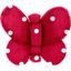 Barrette petit papillon pois rouge - PPMC