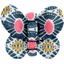 Barrette petit papillon soleil ethnique - PPMC