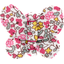 Butterfly hair clip pink jasmine - PPMC