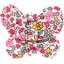 Barrette petit papillon jasmin rose - PPMC