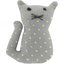 Small cat hair slide etoile or gris - PPMC