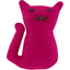 Small cat hair slide fuschia - PPMC